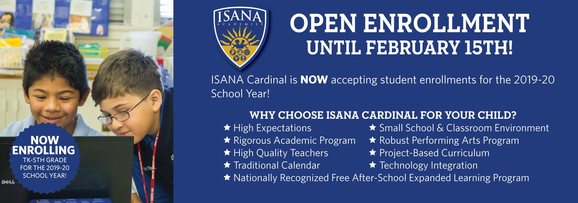 Enroll at Cardinal