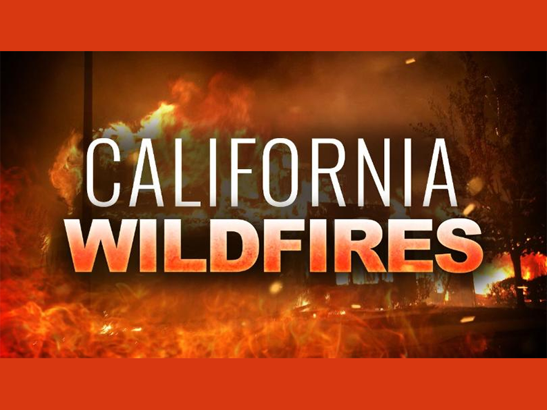 Area Wildfires Update & Resources